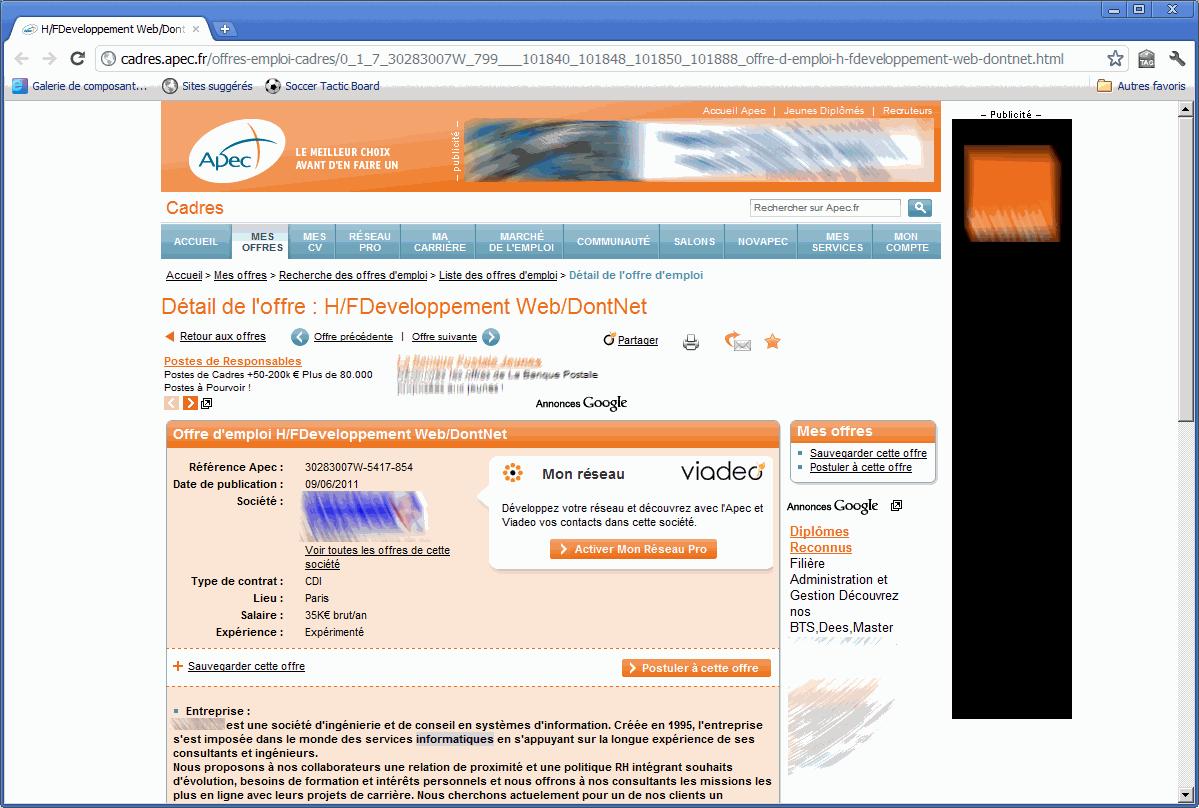 H/FDeveloppement Web/DontNet
